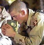 Military - Praying man