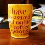 Coffee - T S Eliot mug