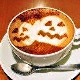 Coffee - seasons - jack-o-lantern