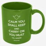 Coffee - Yoda - calm shall you keep
