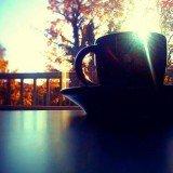 Coffee - Sippin sunrise